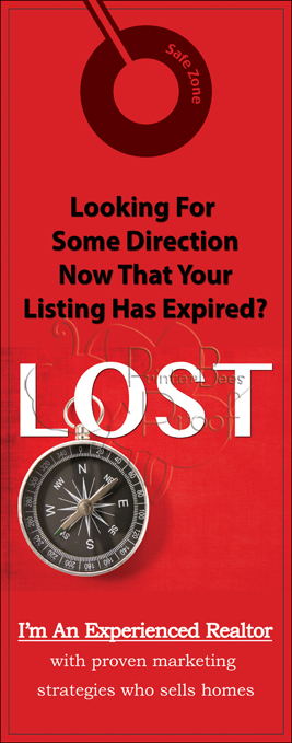Expired Listings Door Hangers - Foreclosure Door Hangers- Real